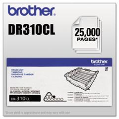 DR310CL Drum Unit, 25,000 Page-Yield, Black