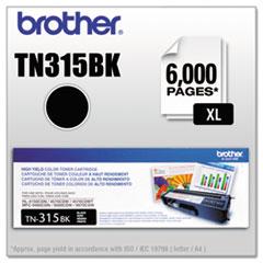 TN315BK (TN-315BK) High-Yield Toner, 6,000 Page-Yield, Black