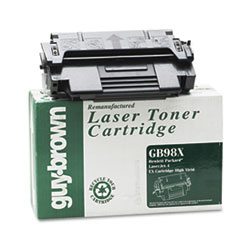 GB98X (92298X) Laser Cartridge, High-Yield, 8800 Page-Yield,