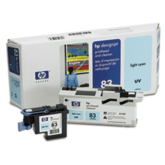 C4964A (HP 83) UV Printhead & Cleaner, UV Light Cyan