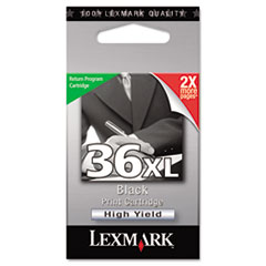 18C2170 (36XL) High-Yield Ink, 500 Page-Yield, Black