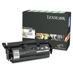 T654X04A Extra High-Yield Toner, 36000 Page-Yield, Black
