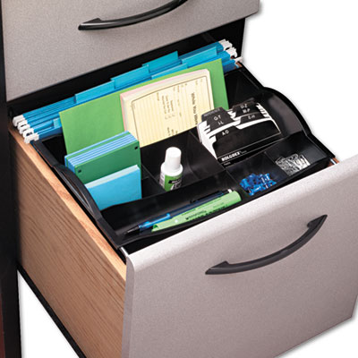 Rubbermaid plastic hanging drawer organizer select - Desk drawer paper organizer ...
